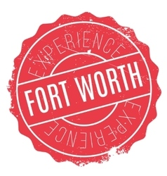 Fort worth stamp vector