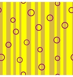 Line and circle chaotic seamless pattern 4010 vector image vector image