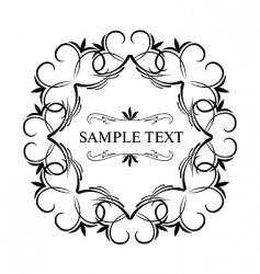 luxury vintage vector image vector image