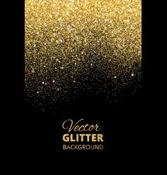 Falling glitter confetti vector