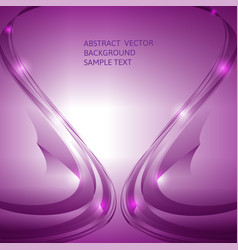 Abstract purple curve background graphic vector