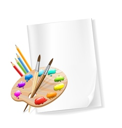 art composition vector image