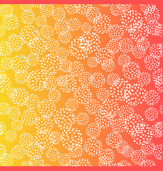 Seamless pattern with brush blots white vector