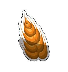 wheat natural food vector image