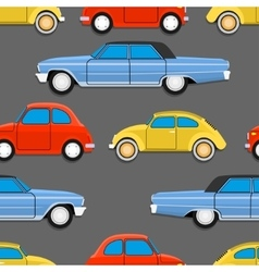 Retro cars vector