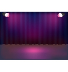 Stage background vector