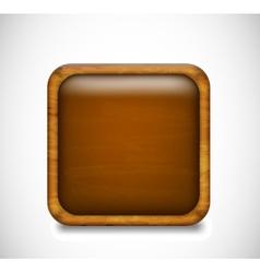 Brown app icon vector image