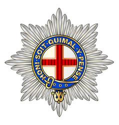 Coldstream guards emblem vector