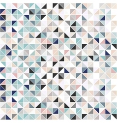 Geometric mosaic background - seamless vector