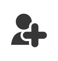 User icon social media design graphic vector