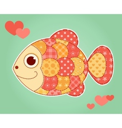 Application fish vector image vector image