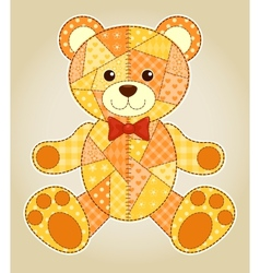Application bear vector image