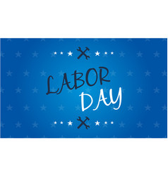 Background labor day style design vector