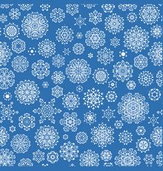 Christmas seamless snowflakes eps 10 vector