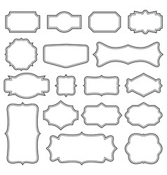 creative set of decorative vector image