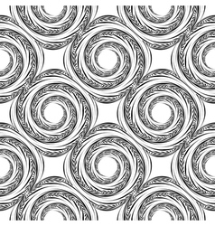 Design seamless spiral movement background vector
