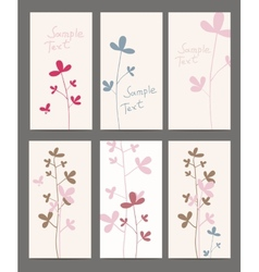 Summer flowers cotton vector