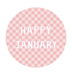 Happy january background4 vector