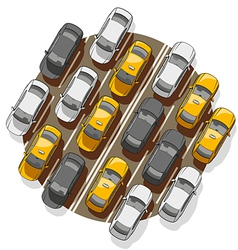 Traffic Jam vector image