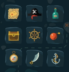Pirate adventure vector