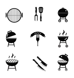 Stock barbecue restaurant party family vector