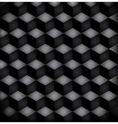 background black squares vector image vector image