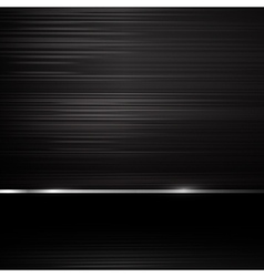 Dark chrome steel abstract background eps10 004 vector image vector image