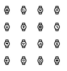 Osmart devices icons vector