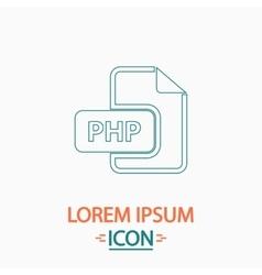 Php computer symbol vector