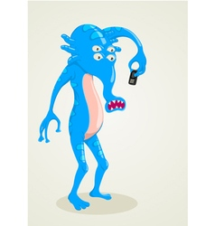 Strange creature vector