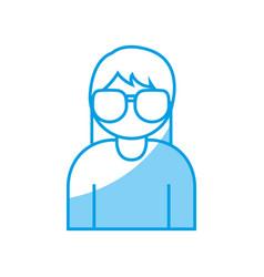Glasses icon image vector