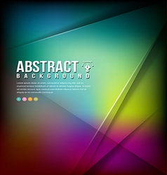 Colorful Abstract business background design vector image