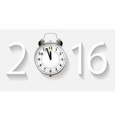 New year 2016 concept vector image vector image