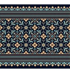 Ukrainian folk seamless pattern ornament ethnic vector