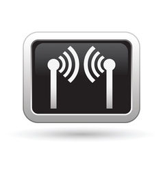 Wireless icon vector image vector image