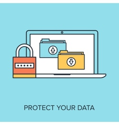 Data protection vector