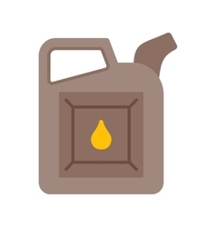 Oil can vector