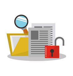 internet security related icons image vector image vector image