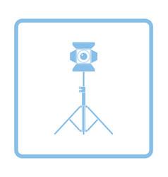 Stage projector icon vector