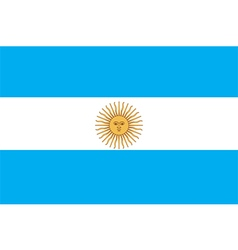 Flags of argentina vector
