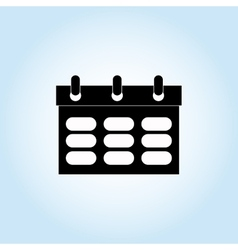 calendar icon design vector image