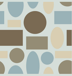 seamless pattern with different figures vector image