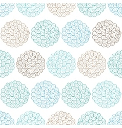 Drops bubbles seamless pattern vector