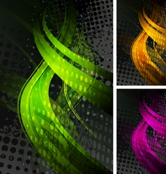 Bright backdrops vector