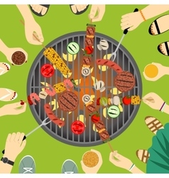 Barbeque party vector