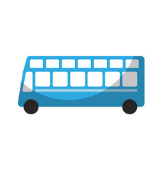 London bus transport vehicle icon vector