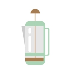 Coffee device kettle icon - stock vector