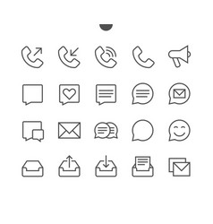 communication pixel perfect well-crafted vector image