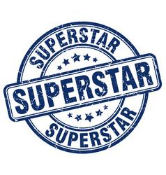 Superstar stamp vector