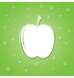 Icon of an apple vector